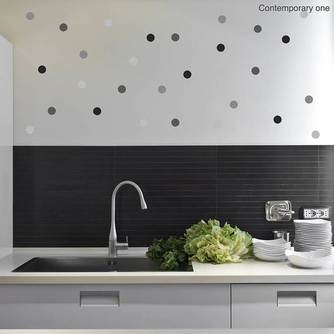 Contemporary Polka Dot Wall Sticker Set - Oakdene Designs - 1