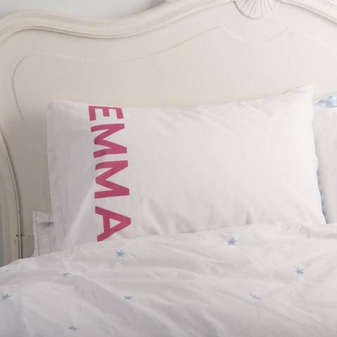 Couple's Matching Name Pillowcases