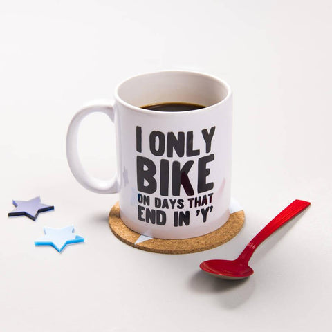 'Days That End In Y' Cycling Mug