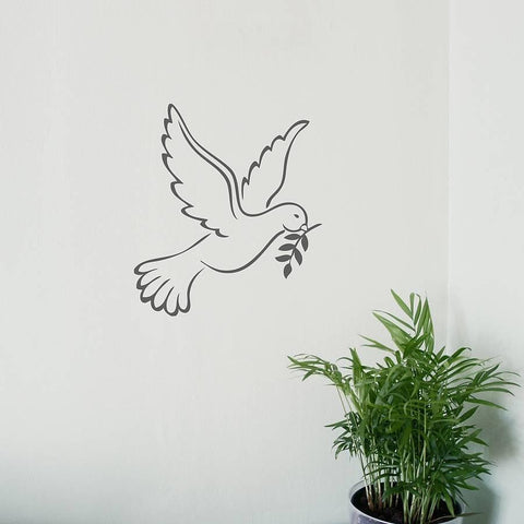 White Dove Vinyl Wall Sticker - Oakdene Designs