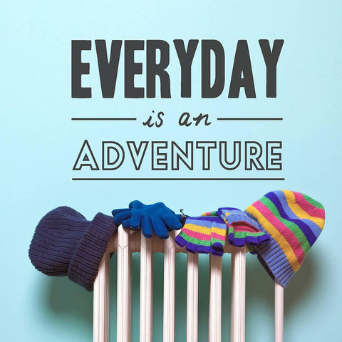 Everyday Is An Adventure Wall Sticker - Oakdene Designs - 1