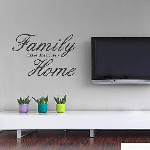 'Family Home' Wall Sticker - Oakdene Designs - 1