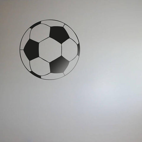Football Vinyl Wall Sticker - Oakdene Designs