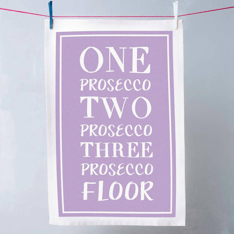 Funny Prosecco Tea Towel - Oakdene Designs - 1
