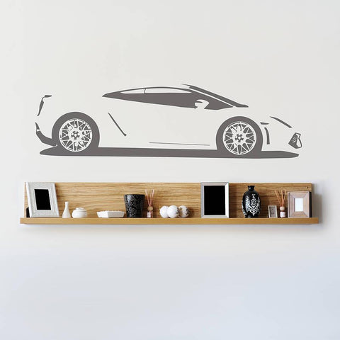 Gallardo Sports Car Vinyl Wall Sticker - Oakdene Designs - 2