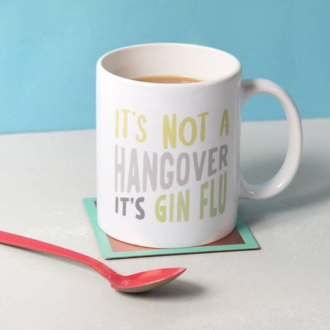 'Gin Flu' Ceramic Mug