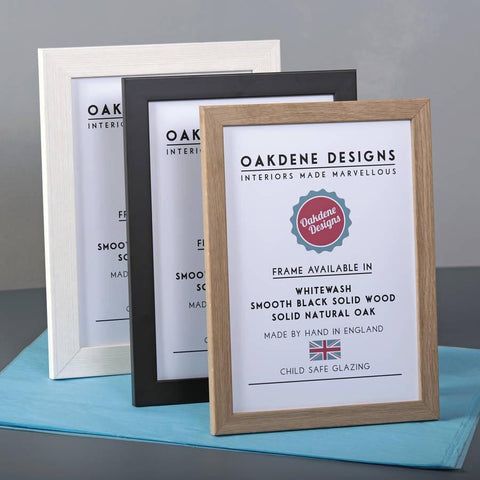 Hand Made Picture Frame In Multiple Sizes - Oakdene Designs