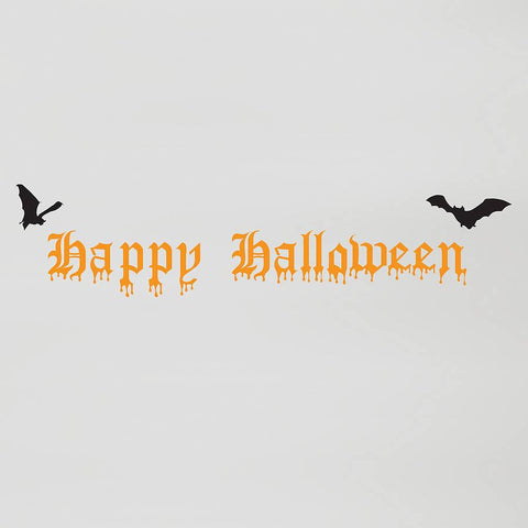 Happy Halloween Wall Sticker - Oakdene Designs
