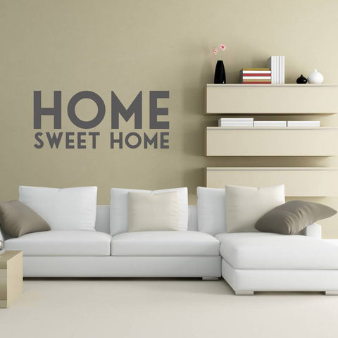 'Home Sweet Home' Vinyl Wall Sticker