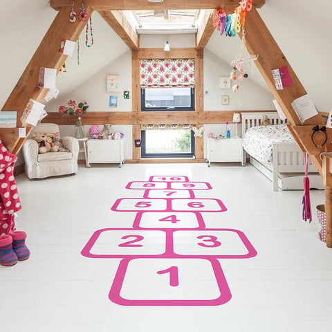 Hopscotch Vinyl Floor Sticker - Oakdene Designs - 1
