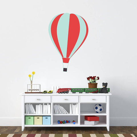 'Hot Air Balloon' Wall Sticker - Oakdene Designs - 1