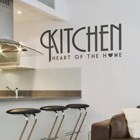 Kitchen 'Heart of the Home' Wall Sticker - Oakdene Designs