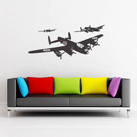 Lancaster Vinyl Wall Sticker - Oakdene Designs - 1