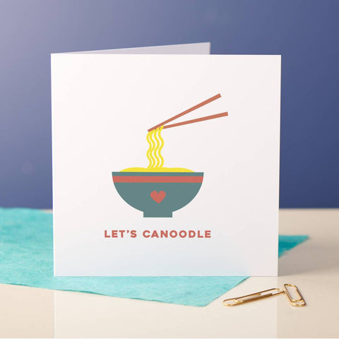 Let's Canoodle Couples Card