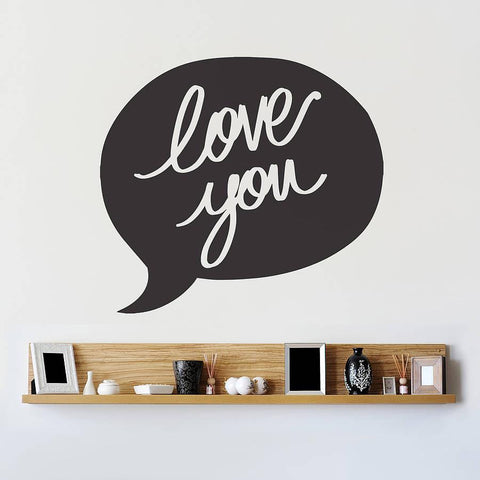 You speech bubble wall sticker oakdene designs 2