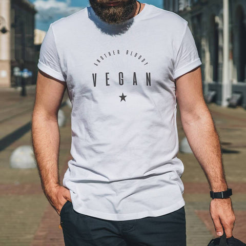 Men's 'Another Bloody Vegan' Funny T Shirt