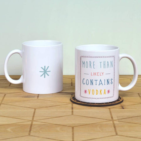 'More Than Likely To Contain' Ceramic Mug