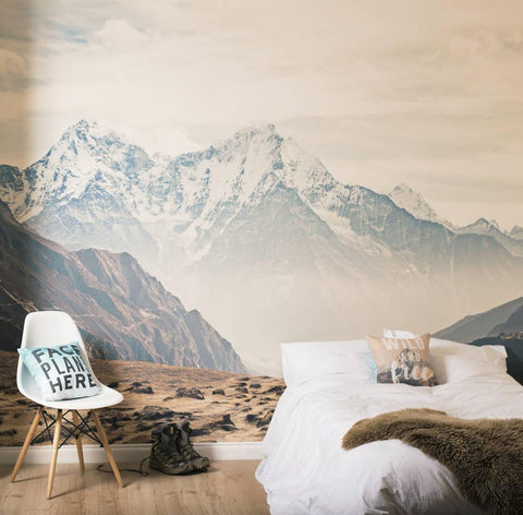 Mountain Vista Self Adhesive Wallpaper Mural - Oakdene Designs - 1