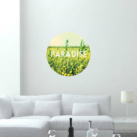 'Paradise' Photo Wall Sticker - Oakdene Designs - 1
