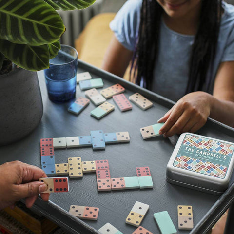 Personalised Colourful Dominoes Double Six Set