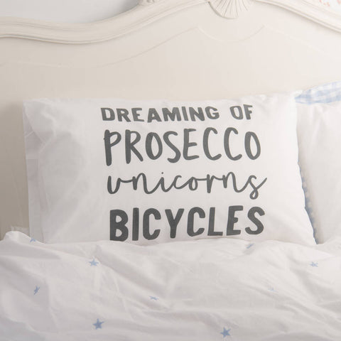 Personalised 'Dreaming Of' Pillowcase