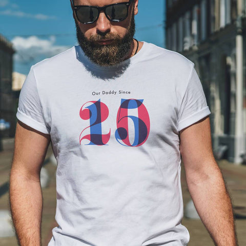Personalised Men's Daddy Since T Shirt