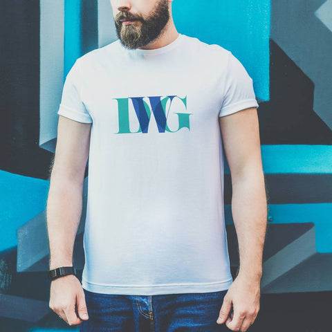 Personalised Men's Monogram T Shirt
