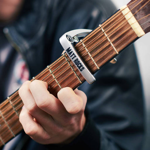 Personalised Metal Guitar Capo