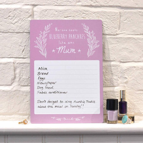 Personalised Mother's Day Whiteboard