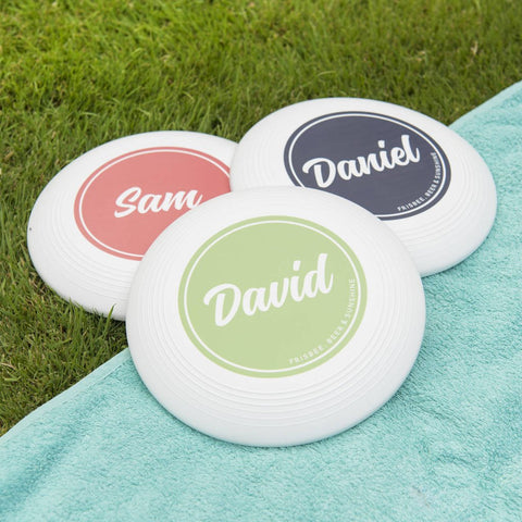 Personalised Name Frisbee
