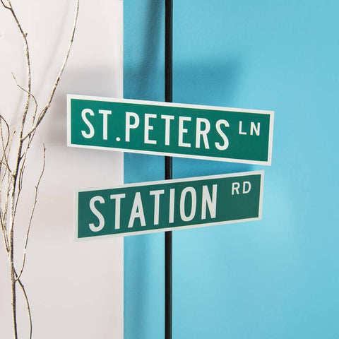 Personalised New York Metal Street Sign - Oakdene Designs - 1