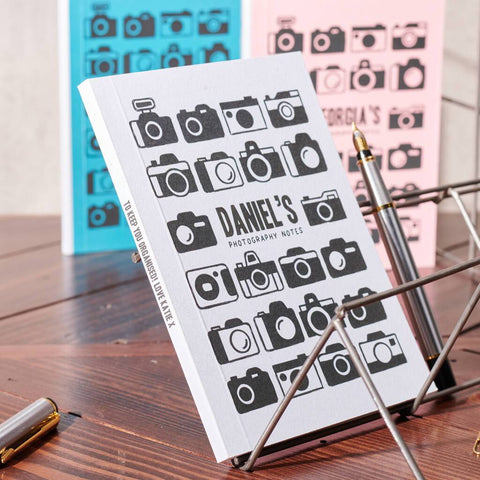 Personalised Photography Notes Pocket Notebook