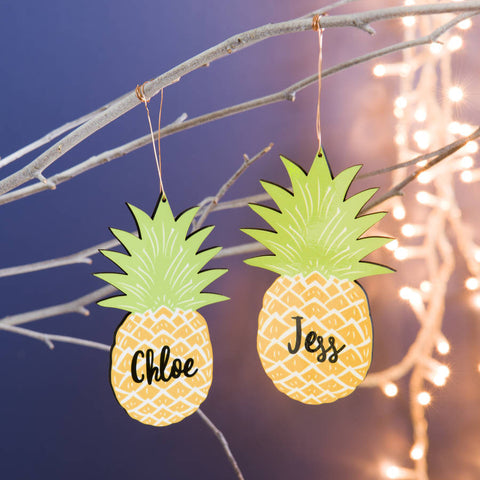 Personalised Pineapple Decoration