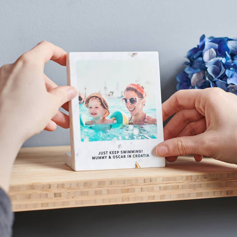 Personalised Recycled Plastic Photo Print