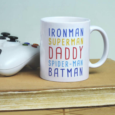 Personalised Superhero Mug - Oakdene Designs - 1