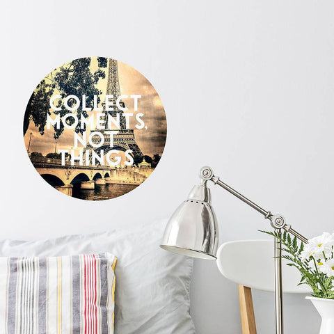 'Personalised Vintage' Circle Wall Sticker - Oakdene Designs - 1