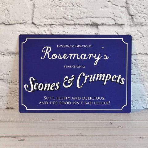 Personalised Vintage Style Metal Sign