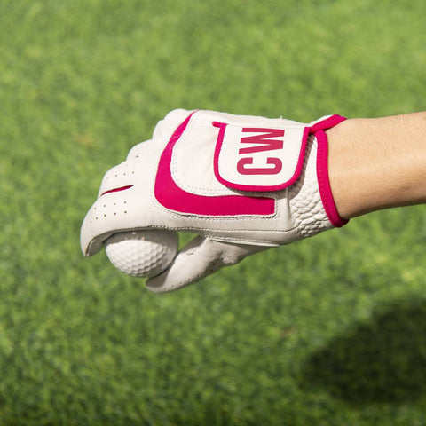 Personalised Women's Leather Golf Glove
