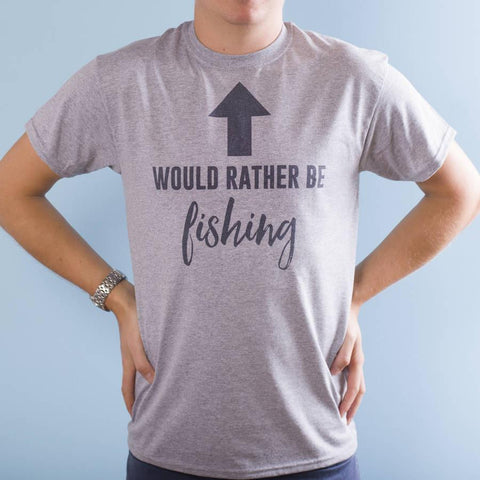 Personalised 'Would Rather Be' Hobbies T Shirt