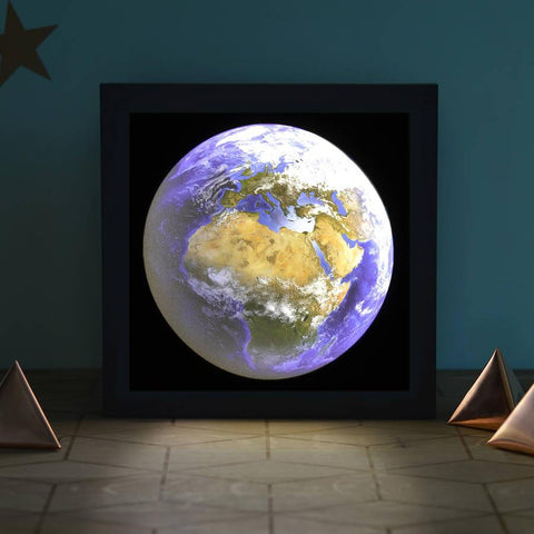 Planet Earth Light Box - Oakdene Designs - 1