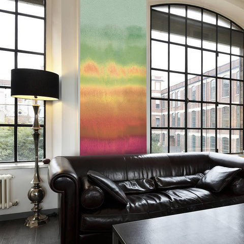 Rainbow Watercolour Self Adhesive Wallpaper - Oakdene Designs - 1