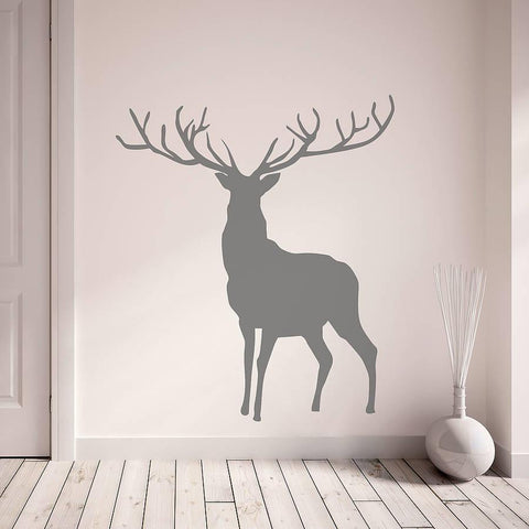 Stag And Deer Vinyl Wall Stickers - Oakdene Designs - 1