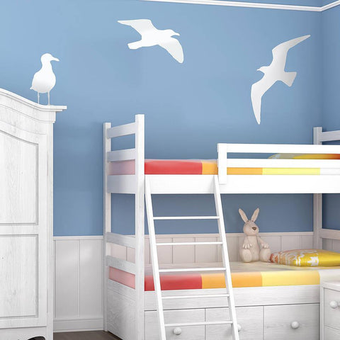 Seagull Vinyl Wall Sticker - Oakdene Designs - 1