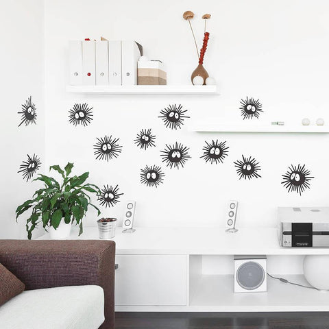 Soot Sprite Wall Sticker Set - Oakdene Designs - 1