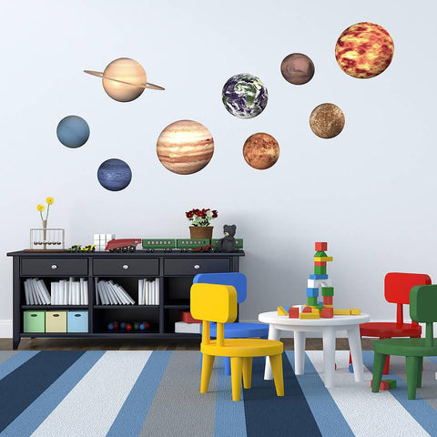 'Space Planet' Wall Stickers - Oakdene Designs - 1
