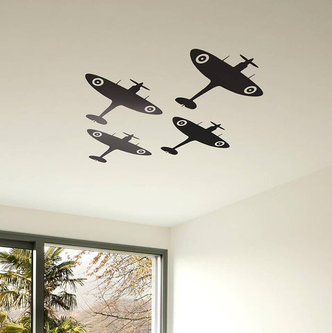 Spitfire Vinyl Wall Sticker - Oakdene Designs - 1