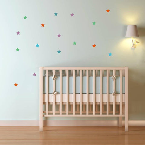 Star Wall Sticker Set - Oakdene Designs - 1