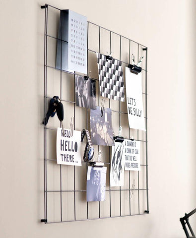 Steel Wire Mesh Noticeboard Oakdenedesigns Com