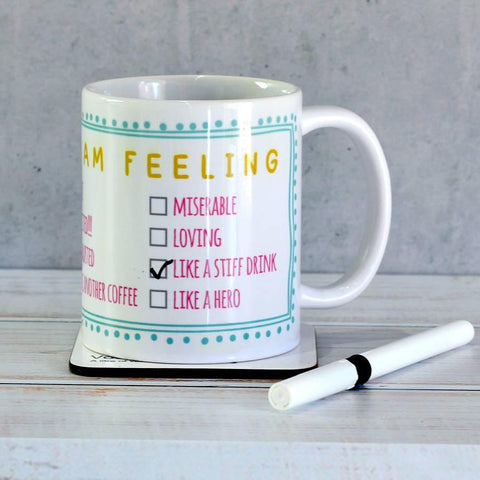 'Today I'm Feeling…' Mug - Oakdene Designs - 1