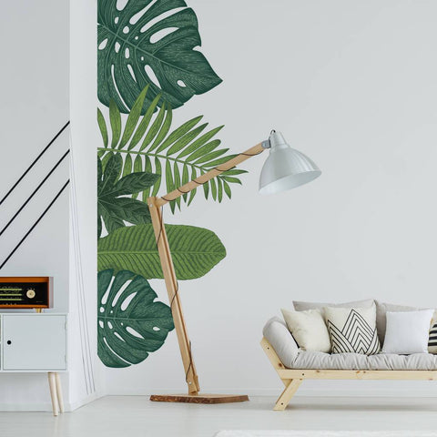 Tropical Corner Wall Sticker